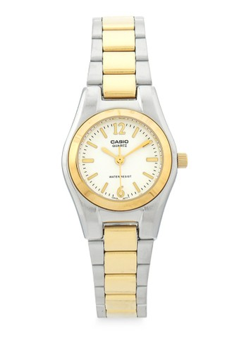 Casio gold and silver Casio Jam Tangan Wanita - Silver Gold White - Silver Gold - LTP-1253SG-7ADF 8EE01AC60EC905GS_1