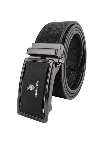 Swiss Polo black 40mm Automatic Belt 43838ACDA25DC7GS_1