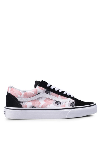 VANS pink Old Skool California Poppy Sneakers VA142SH0SWTNMY_1