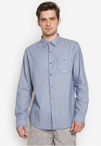 2c597b14873 Shop RRJ Long Sleeves Oxford Collared Shirt Online on ZALORA Philippines