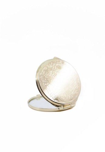 Stylodeco Engraved Golden Pocket Mirror 37762HL9419336GS_1