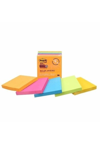 Post-IT 3M Post it Super Sticky Notes - Rio De Janeiro Collection [654-5SSUC-C] 42F38HLF9CA7DDGS_1