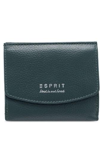 ESPRIT green Snap Button Wallet 3F0B5AC526B5F4GS_1