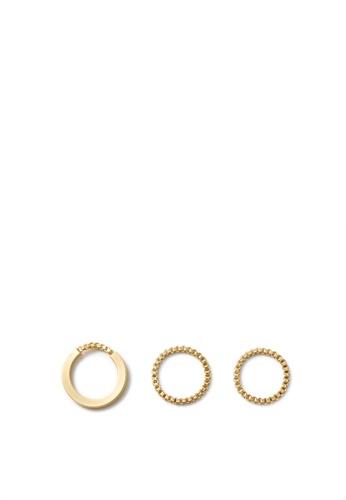 MONDAY EDITION gold Simple Phorcys Ring Set F4904ACDB818B2GS_1