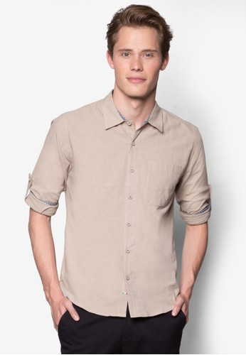 長esprit hk office袖襯衫, 服飾, 服飾