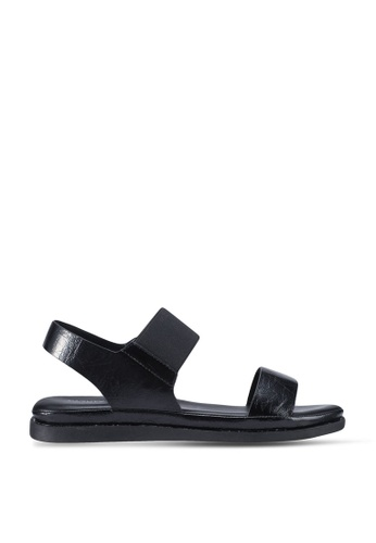 Twenty Two black Harmony Slingback Sandals 90FCESH1749522GS_1
