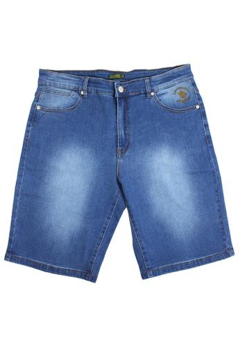 Santa Barbara Polo & Racquet Club blue SBPRC Short Denim 25-1102-83 6AEC0AAE1FDC21GS_1