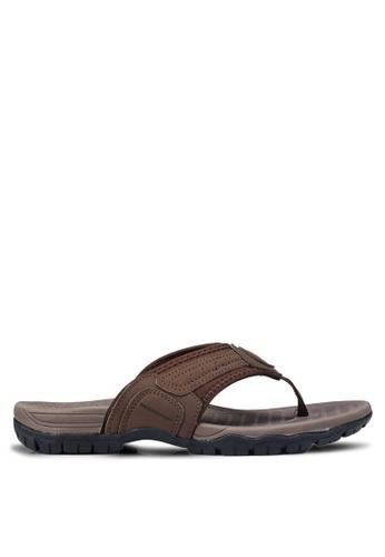 Weinbrenner brown Slip On Sandals D9B13SH93610C9GS_1
