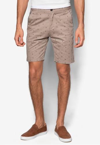 印花esprit bag百慕達短褲, 服飾, 短褲