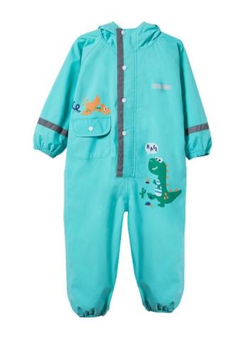 Twenty Eight Shoes green VANSA Cartoon One-piece Raincoat VCK-R19418 7F0E4KA0A39492GS_1