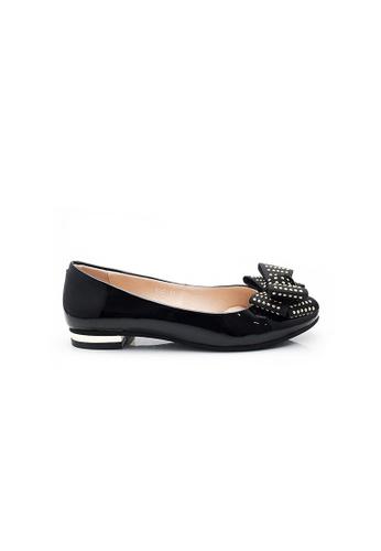 Elisa Litz black Abele Flats (Black) BECACSH95F1F66GS_1