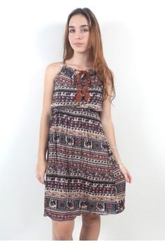 The Fiona Aztec Dress