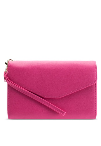 Bagstationz pink Multipurpose Travel Large Clutch BA607AC19TKIMY_1