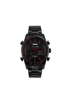 30M Waterproof Multimode Watch With Week Hour Minute Seconds Display