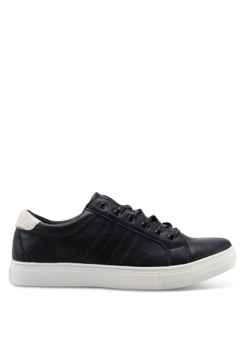 High Cultured black Panelled Sneakers-343 FF7EASHD845910GS_1