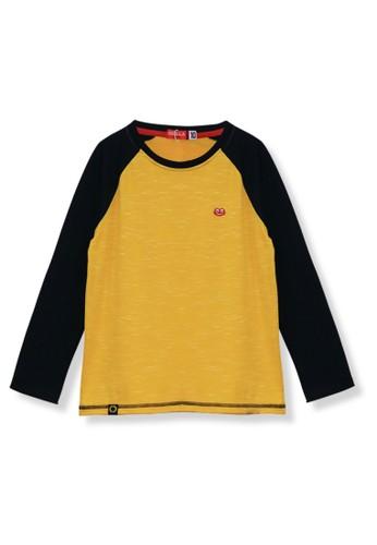 Osella Kids yellow Osella Baju Anak Laki Laki Tshirt Lengan Panjang Yellow 2B10CKA7D1A201GS_1