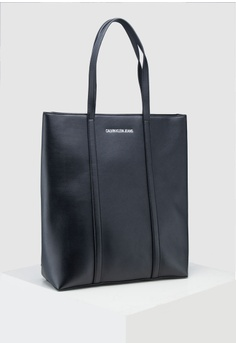 18254c9791 Calvin Klein black L Shaped Tote Bag - Calvin Klein Accessories  5338CACF4A9AAAGS 1