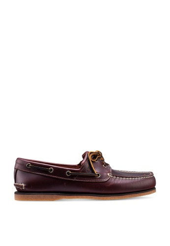 Timberland brown Timberland Iconic Classic Boat Shoes AD2E5SH8C0B9D9GS_1