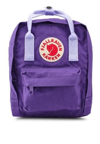 Fjallraven Kanken purple Kanken Mini Backpack 2F758AC0CAA649GS_1