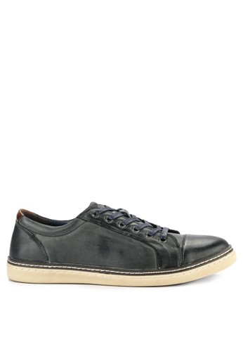Hush Puppies navy Rickman Lace Up 91E6DSH2651B6EGS_1