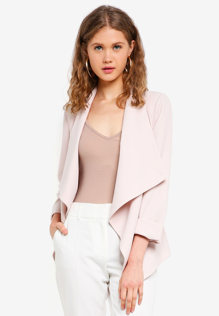 Waterfall New Forever Rosa Shimmer Jacket Nude ZgOZRY