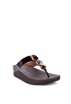 90dc66803 Fitflop Halo Tortoiseshell Toe Post Sandals Php 5