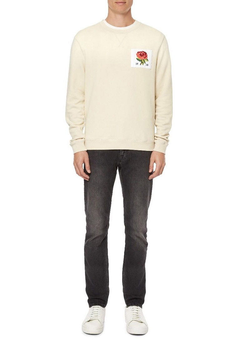 Curwen and Kent sweatshirt 1926 Tan jersey qIAwF