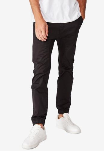 Cotton On black Drake Cuffed Pants 3E3D7AAE3939C7GS_1