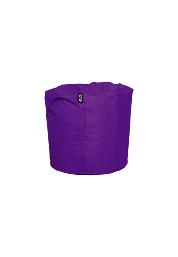 doob purple TOOTSIE - ottoman/footrest doob bean bag (Grape Purple) D3DB3HL4BA35C9GS_1