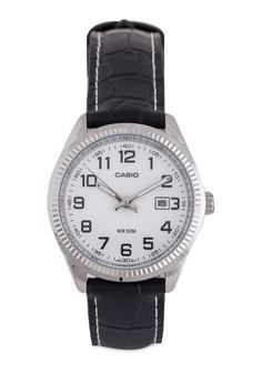 Casio LTP-1302L-7BVD 指針皮革錶