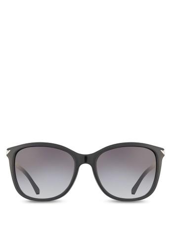 基本款休閒暗漸層色鏡片太陽眼鏡, zalora鞋飾品配件, 飾品配件