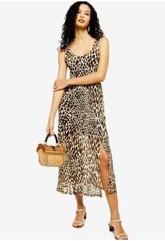 9e6d336eee5c TOPSHOP multi Tie Dye Animal Mesh Dress 32916AAAFA11FBGS_1