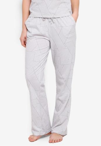 Cotton On Body grey Match Back Wide Leg Pants 26056AAB9F0B13GS_1