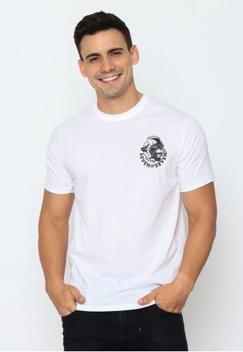 17seven Original white Tshirt 0244-TIGER-WHITE EC562AAD1EB74EGS_1