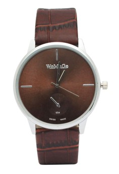 Sandra Leather Strap Watch