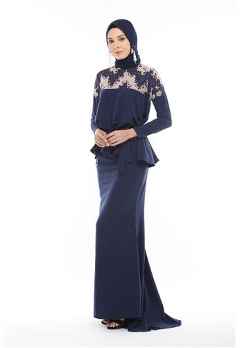Varbara Ann Dark Blue from DLEQA in Blue