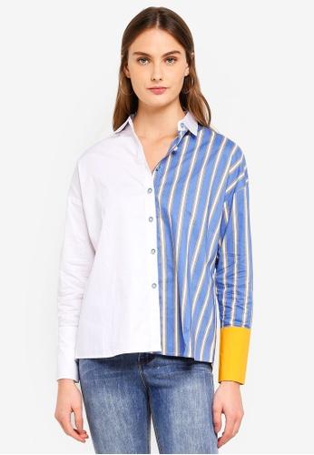 Haute Kelly blue Sun-Hi Shirt A45F8AA0B9F01DGS_1
