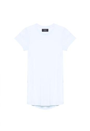 Cotton On 藍色 休閒短袖長版T恤 58ED7AADE3085AGS_1