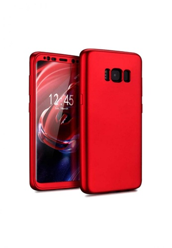 MobileHub red Mobilehub 360 Armor Series Case for Samsung Galaxy S8 Plus MO220AC32SZBPH_1