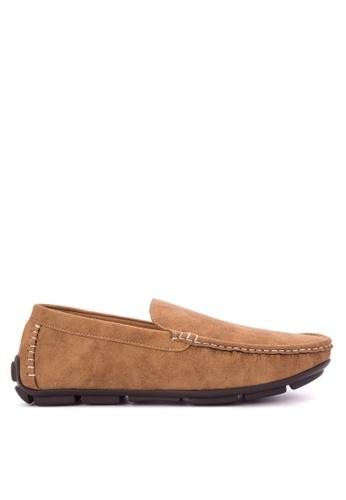 H2Ocean brown Napoleon Shoes H2527SH0KAJ8PH_1