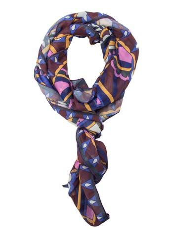 印esprit 請人花絲巾, 飾品配件, 披肩