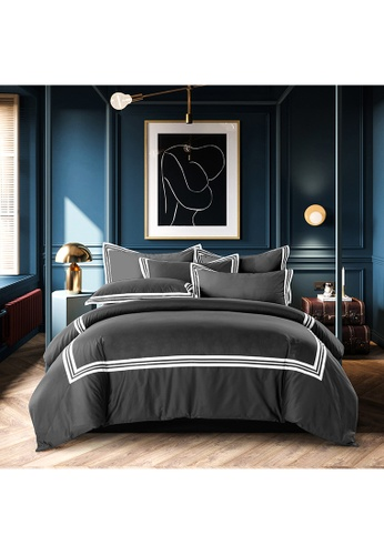 Canopy navy Canopy Luxe Earl 100% USA Cotton 980tc Full Bed Set DD83FHLC417BB0GS_1