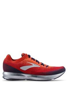 04ea7b006a9b6 Brooks orange and multi Levitate 2 Shoes C4715SHF09948EGS 1