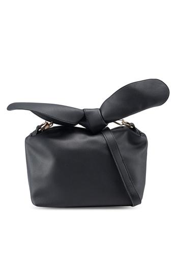 Berrybenka black Ghea Octa Sling Bag 2AE58AC762F22BGS_1