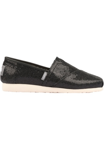 paperplanes black Paperplanes-1199 Fashion Glitter Shiny Slip-Ons Sneakers Shoes US Women Size PA355SH57PZUSG_1