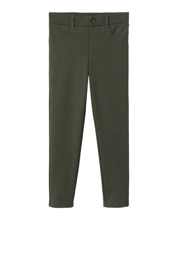 MANGO KIDS green Mock Pockets Leggings 7C2C5KA06ADA93GS_1