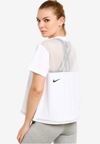 Nike white Sportswear Tech Pack Top B1004AAF05A214GS_1