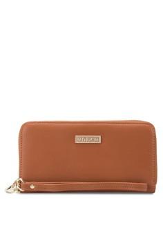 Unisa Textured Ladies Zip-Up Wallet