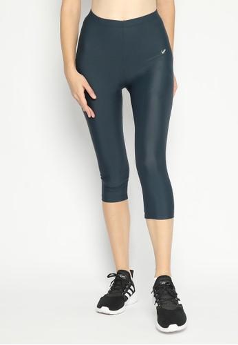 Lee Vierra Lee Vierra Legging Basic Capris - Legging 7/8 Wanita 1403AAAB7A5D86GS_1