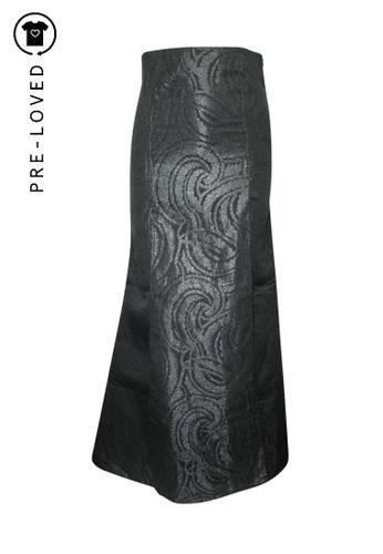 Reformation black Pre-Loved reformation Maxi Elegent Evening Skirt C9698AA2B10D5DGS_1